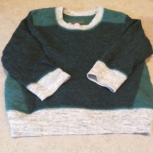 Boys green/grey Fashion sweatshirt